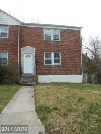 Home for sale: 1101 Gleneagle Rd., Baltimore, MD 21239