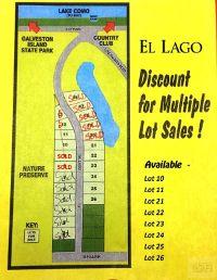 Home for sale: 23 El Lago, Galveston, TX 77554