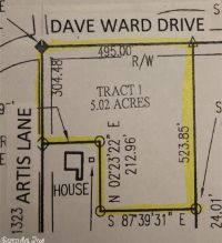 Home for sale: 000 Dave Ward Dr., Conway, AR 72034